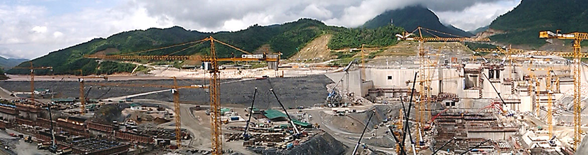 We coordinate on scheduling large infrastructure projects like the Xayaburi Hydroelectric Power Project